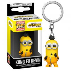 Llavero Pocket POP Minions 2 Kung Fu Kevin - Imagen 1