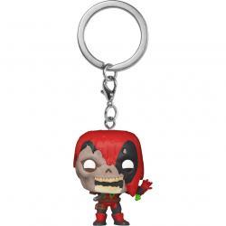 Llavero Pocket POP Marvel Zombies Deadpool - Imagen 1