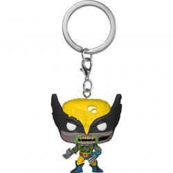 Llavero Pocket POP Marvel Zombies Wolverine - Imagen 1