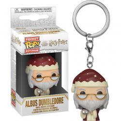 Llavero Pocket Harry Potter Holiday Dumbledore - Imagen 1